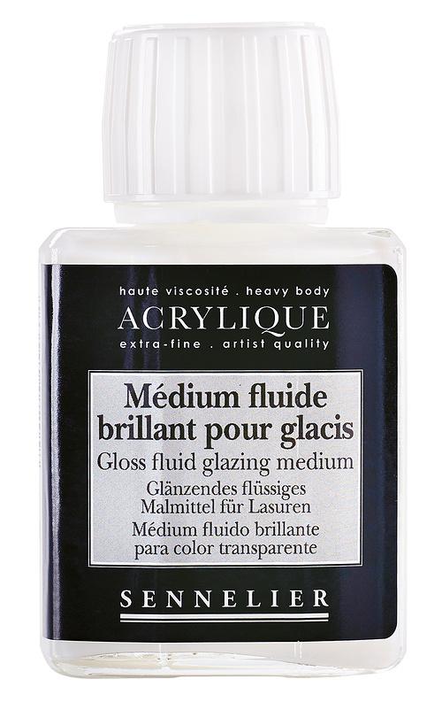 Medium fluido brillante per glacis 0
